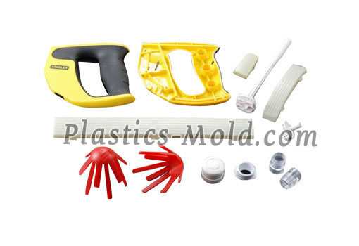 Custom molded plastic parts