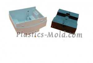 Custom molded ABS plastic enclosure