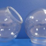 Injection blow molding lenses