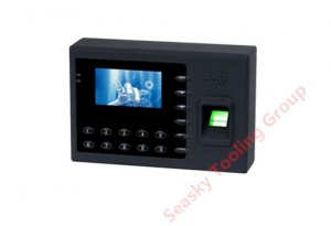 Time and attendance plastic enclosure