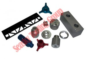 Metal machining parts-aluminum