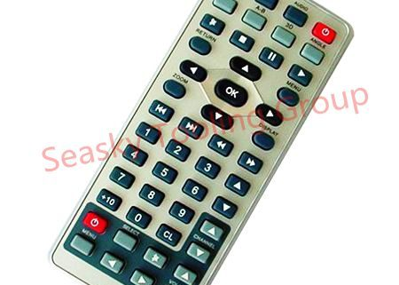 Remote control plastic enclosure