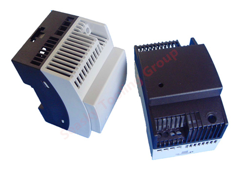 Injection molded plastic relay enclosures