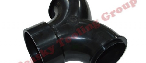 Injection molded plastic tube