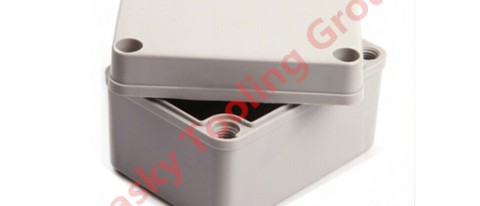 Injection molding polycarbonate project box