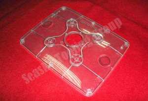 Electronic clear plastic enclosure manufacturing