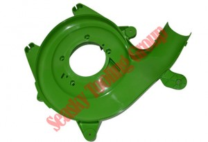 Drying blower plastic housing