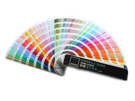 Plastic injection molding color pantone book